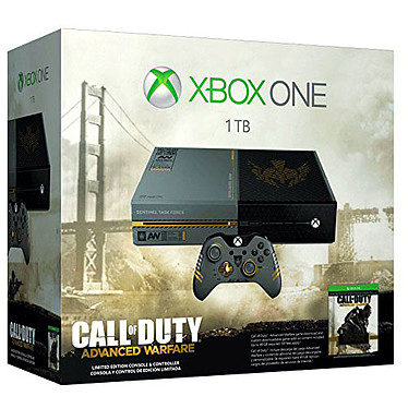 Microsoft Xbox One Limited Edition + Call of Duty: Advanced Warfare