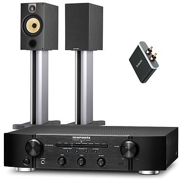 Marantz PM6005 + B&W 685 S2 + Focal Universal Wireless Receiver  Amplificateur stéréo intégré 2 x 45 W + Enceinte bibliothèque (par paire) + Récepteur Bluetooth