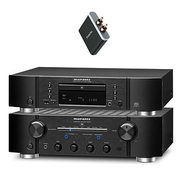 Marantz PM8005 + Marantz SA8005 + Focal Universal Wireless Receiver Amplificateur stéréo intégré 2 x 70 W + Platine CD compatible iPod, iPhone MP3 et WMA + Récepteur Bluetooth