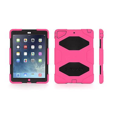 Griffin Survivor for iPad Air 2 Rose/Noir Coque ultra robuste en polycarbonate et silicone pour iPad Air 2