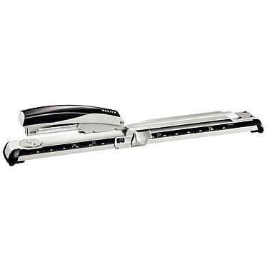 Leitz NeXXT 5560 Grapadora para grapar hasta 40 hojas de papel con una profundidad de ranura de 30 mm (80 g/m²)