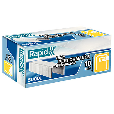 Rapid agrafes 13/10 boite de 5000 agrafes