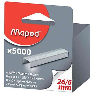 Maped 5000 Agrafes 26/6 Galvanisées