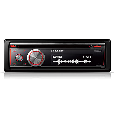 Pioneer DEH-X8700BT Autoradio CD USB Bluetooth compatible avec smartphone Android et iPod / iPhone