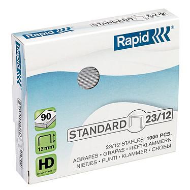 Rapid agrafes 23/12 boite de 1000 agrafes