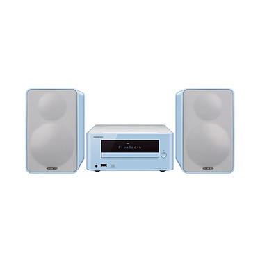 Onkyo CS-265 Bleu Mini-système CD Hi-Fi Bluetooth NFC