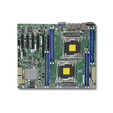 SuperMicro X10DRL-I Carte mère ATX Socket 2011-v3 - SATA 6Gb/s - USB 3.0 - 1 x PCI Express 3.0 16x - 3 x PCI Express 3.0 8x - 2 x Gigabit LAN