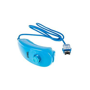 Under Control ii Chuck (coloris bleu) Contrôleur de jeu additionnel type Nunchuk pour Wiimote (compatible Wii et Wii U)