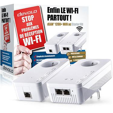 Acheter Devolo dLAN 1200+ Wi-Fi AC Triple Pack