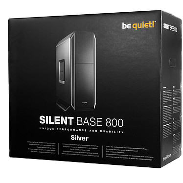 Comprar be quiet! Silent Base 800 (Negro/Plata)