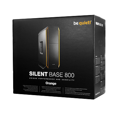 Acheter be quiet! Silent Base 800 (Noir/Orange)