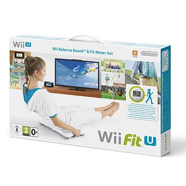 Wii Fit U + Fit Meter + Balance Board (Wii U) Jeu + Balance + Capteur d'activité