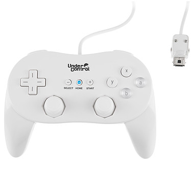 Under Control Classic Xpert Controller (coloris blanc)