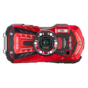 Ricoh WG-30 Rouge  Appareil photo baroudeur 16 MP - Zoom optique grand-angle 5x - Vidéo Full HD