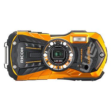 Ricoh WG-30W Orange Appareil photo baroudeur 16 MP - Zoom optique grand-angle 5x - Vidéo Full HD - Wi-Fi