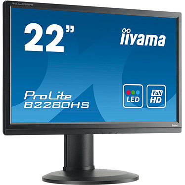 """Avis iiyama 21.5"""" LED - ProLite B2280HS-B1DP Noir"""