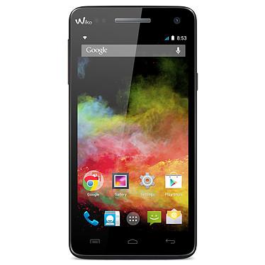 """Wiko Rainbow 4G Noir Smartphone 4G-LTE avec écran tactile HD 5"""" sous Android 4.4"""