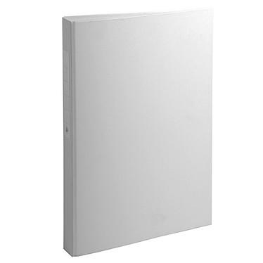 Classeur A4 Blanc personnalisable  4 anneaux 20 mm et dos 35 mm Classeur A4 Blanc personnalisable  4 anneaux 20 mm et dos 35 mm