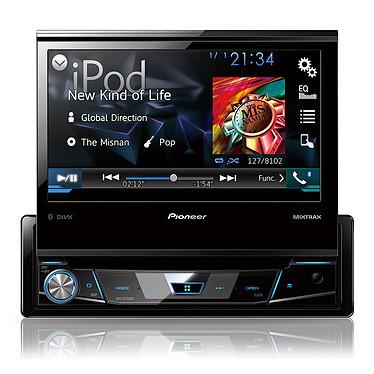 """Pioneer AVH-X7700BT Autoradio CD / DVD / DivX MP3 avec écran tactile 7"""", contrôle iPod/iPhone, USB, Bluetooth, entrée auxiliaire, AppRadioLive et MirrorLink"""