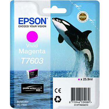 Epson T7603 Cartouche d'encre Vivid Magenta