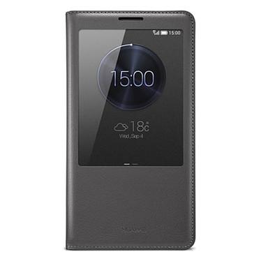 Huawei Etui Folio avec fenêtre pour Ascend Mate 7 Noir Etui Folio avec fenêtre pour Huawei Ascend Mate 7