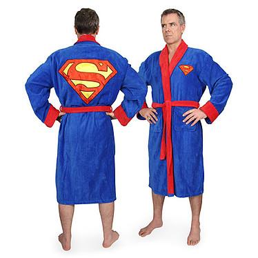 Peignoir Superman  Peignoir en polyester avec logo Superman - 120cm