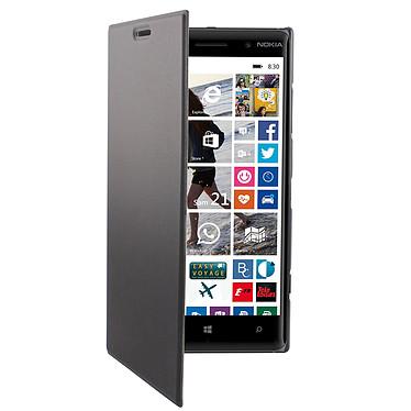 Swiss Charger Etui Folio Slim Blanc pour Nokia Lumia 830