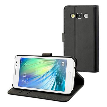 Muvit Etui Folio Slim Noir pour Samsung Galaxy Ace 3