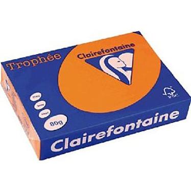 Clairefontaine Trophée Ramette de papier 500 feuilles A4 80g Orange vif