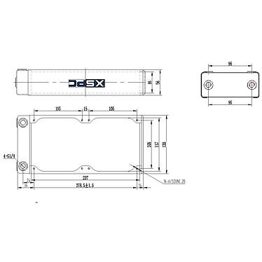 XSPC RX240 V3 pas cher