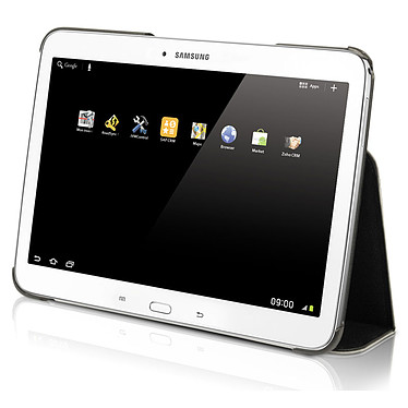 """Mobilis Case C2 Galaxy Tab S 10.5"""" Étui de protection avec patte élastique de saisie pour tablette Samsung Galaxy Tab S 10.5"""""""