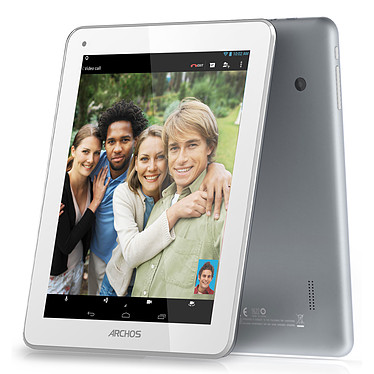 "Archos 80b Platinum Tablette Internet - ARM Cortex A9 1.6 GHz 1 Go 8 Go 8"" LED tactile Wi-Fi/Bluetooth/Webcam Android 4.2"
