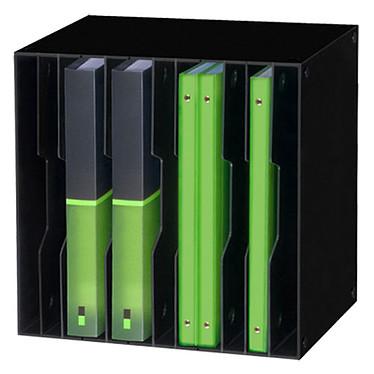 CEP Module CubiCep 12 cases Gloss Noir Bloc de classement 12 compartiments amovibles 24 x 32 cm ouverts coloris Noir