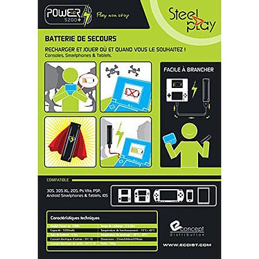 Avis Steelplay Power Bank 5200+