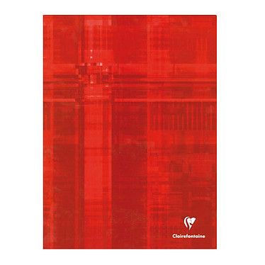 Clairefontaine Cahier piqure 96 pages 90 g 24 x 32 cm
