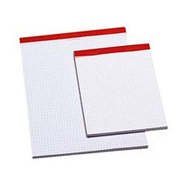 Bloc papier 100 feuillets A5 quadrillés 5 x 5 sans couverture