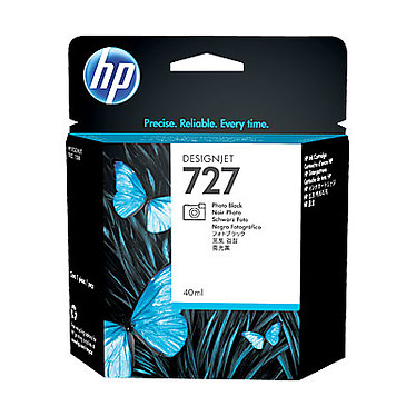 HP 727 Designjet 40 ml - Noir Photo
