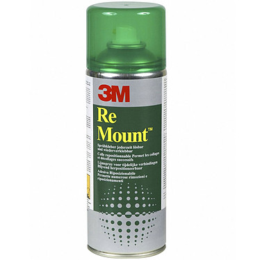 3M Re Mount Bombe de colle repositionnable