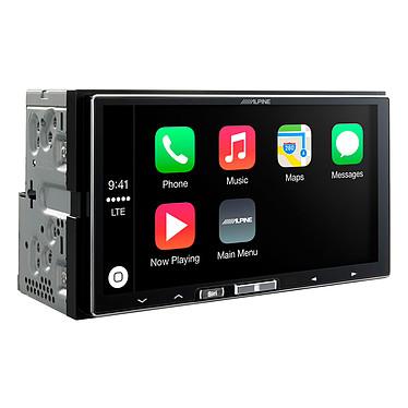 Alpine ILX-700 Lecteur multimédia 2DIN Apple Car Play avec écran tactile 7 pouces, port USB et entrée aux
