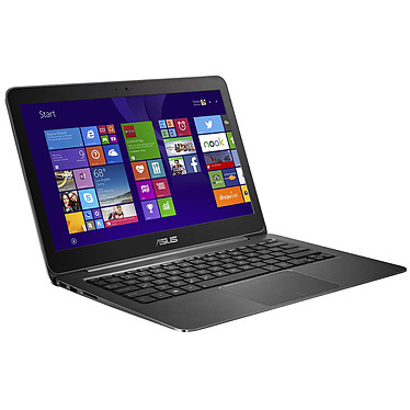 "ASUS Zenbook UX305FA-FC060T Noir Intel Core M-5Y10 4 Go SSD 128 Go 13.3"" LED Full HD Wi-Fi AC/Bluetooth Webcam Windows 10 Famille 64 bits (garantie constructeur 2 ans)"