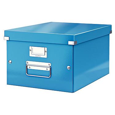 Leitz Caja de almacenamiento mediano Click & Store de 16,7 litros Azul