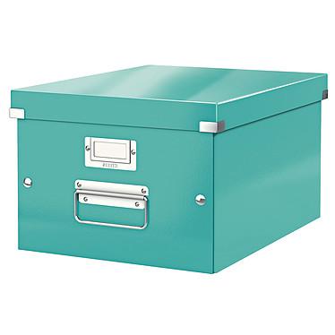 Leitz Caja de almacenamiento mediano Click & Store de 16,7 litros Menta