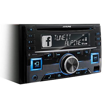 Alpine CDE-W296BT  · Occasion Autoradio 2DIN CD/MP3 compatible iPod/iPhone et Android, Bluetooth, USB, entrée auxiliaire et éclairage variable  - Article utilisé, garantie 6 mois