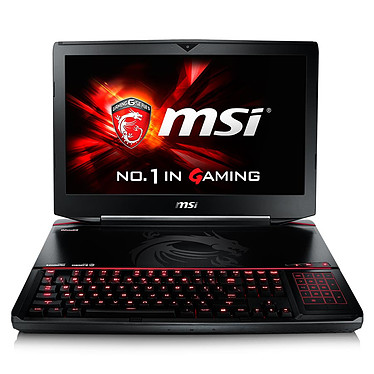 "MSI GT80S 6QE-059FR Titan SLI Intel Core i7-6920HQ 32 Go SSD 256 Go (2x 128 Go) + HDD 1 To 18.4"" LED Full HD NVIDIA GeForce GTX 980M 8 Go SLI Graveur Blu-ray Wi-Fi AC/Bluetooth Webcam Windows 10 Famille 64 bits (Garantie constructeur 2 ans)"