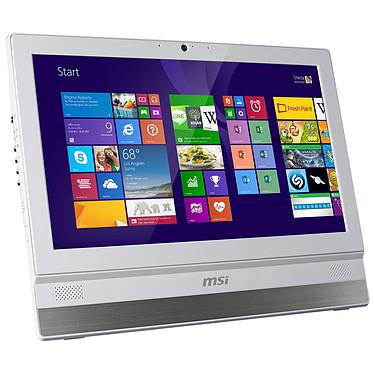 """MSI Adora22 2M-035EU Blanc Intel Pentium 3560M 4 Go 500 Go LED 21.5"""" Tactile Graveur DVD Wi-Fi N/Bluetooth Webcam Windows 8.1 64 bits (Garantie constructeur 2 ans enlèvement sur site)"""