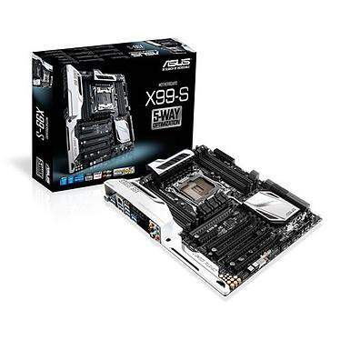 ASUS X99-S Carte mère ATX Socket 2011-3 Intel X99 Express - SATA 6Gb/s - M.2/SATA Express - USB 3.0 - 5x PCI-Express 3.0 16x
