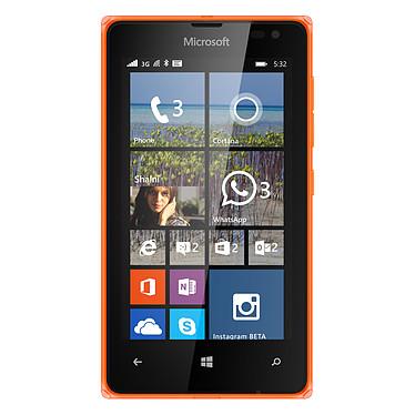 "Microsoft Lumia 532 Dual SIM Orange Smartphone 3G+ Dual SIM avec écran tactile 4"" sous Windows Phone 8.1"