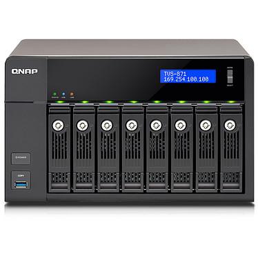 QNAP TVS-871-PT-4G Serveur NAS 8 baies (sans disque dur) avec processeur dual-core Intel Pentium G3250 3.2 GHz