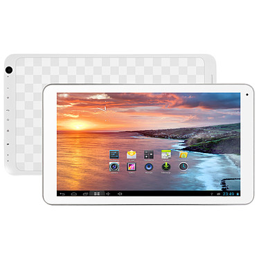 """MPMAN MPDC1006 MKII 8 Go  Tablette Internet - ARM Cortex-A9 1.0 GHz 512 Mo 8 Go 10.1"""" Wi-Fi N Webcam Play Store Android 4.4"""