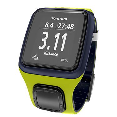 TomTom Runner GPS Bleu foncé / Vert  Montre running avec GPS
